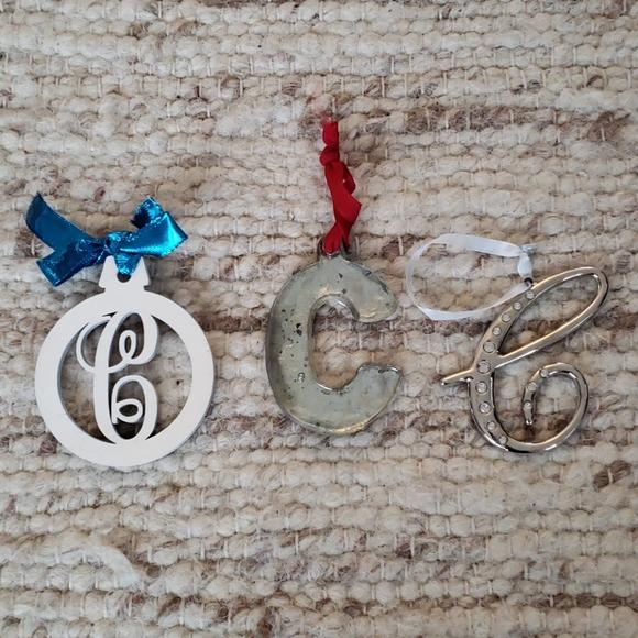 """Initial """"C"""" ornaments"""